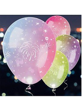 Led ballonnen pastel