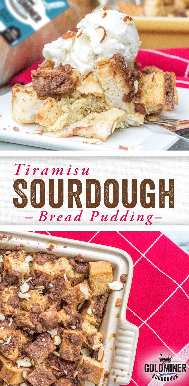 Apr 8, 2020 – Tiramisu Sourdough Bread Pudding: Enjoy this tiramisu bread pudding for dessert or breakfast – or perhaps …