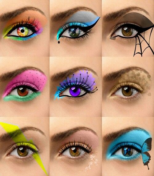 Look at these cool eye shadow ideas  Eye Makeup ImagesSimple ...