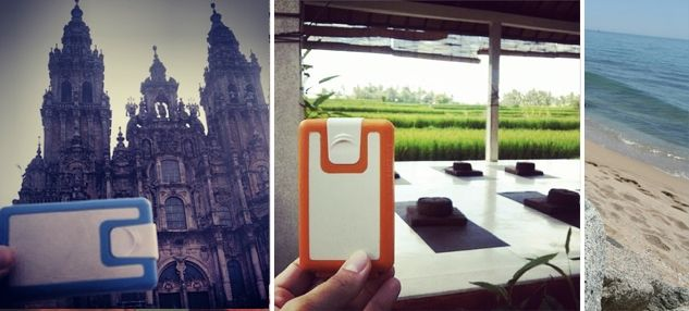 Lockbox a travelling wallet, a quality silicone wallet for moving people. Starting from $27 We are shipping worldwide!