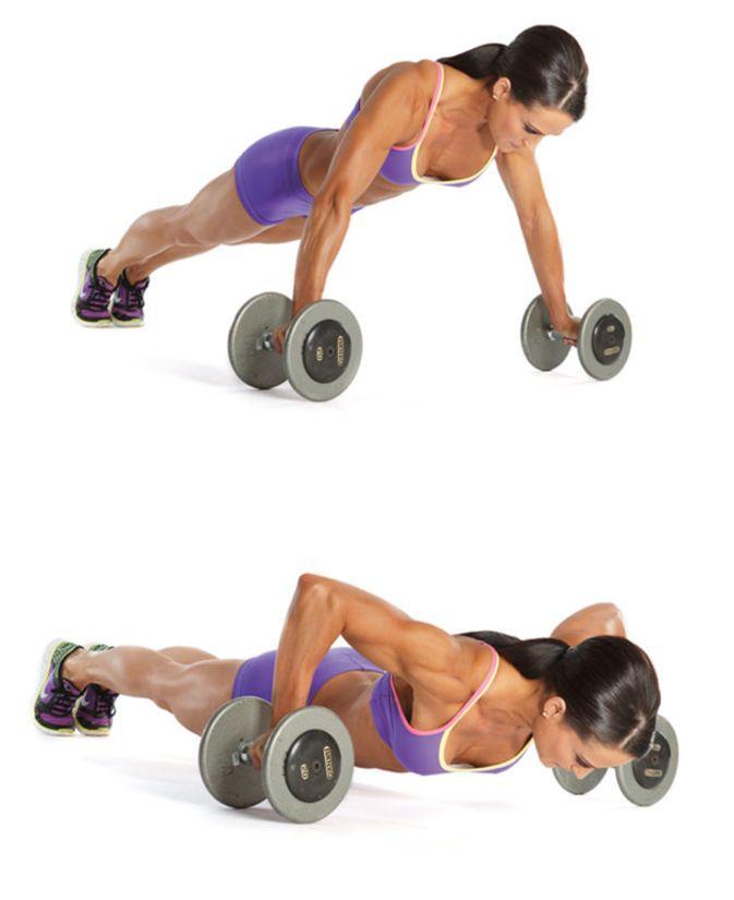 Erin Stern's Push-Pull Workout   Oxygen Magazine