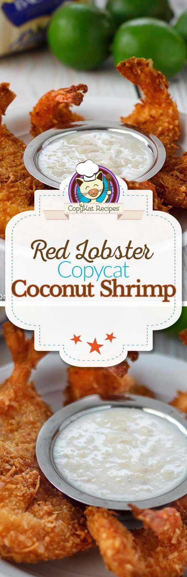 Red Lobster Parrot Bay Coconut Shrimp Recipe Seafood