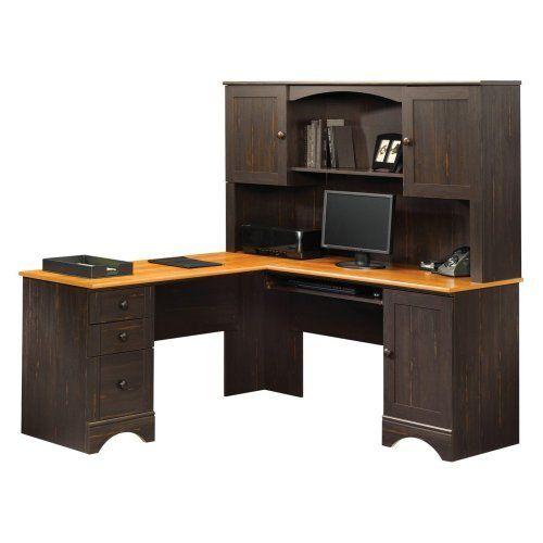 Sauder Harbor View Corner Computer Desk with Hutch - Antiqued Paint, http://www.amazon.com/dp/B00FSL9CUU/ref=cm_sw_r_pi_awdm_.MA3sb19HG068