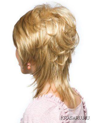 каска4 | Каскад для тонких волос средней длины