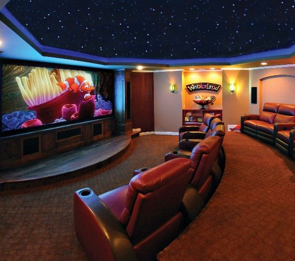 21 Incredible Home Theater Design Ideas Decor Pictures: 178 Best Images About Home Theater On Pinterest
