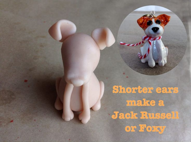 Short ears on the Mini Pup Base One makes a Foxy/Jack Russell Terrier.  http://jebarsby.weebly.com/blog/re-fur-pups