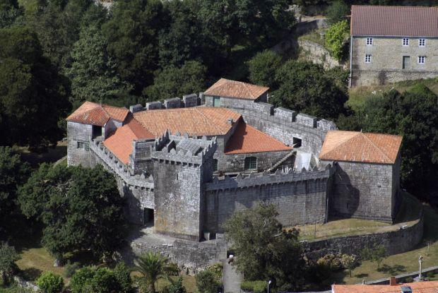 castillo de Vimianzo,provincia da Coruña