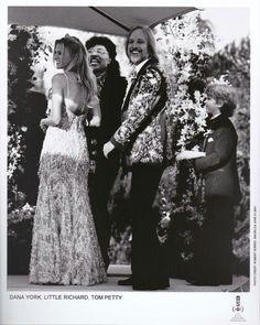 Tom Petty and Dana -Wedding