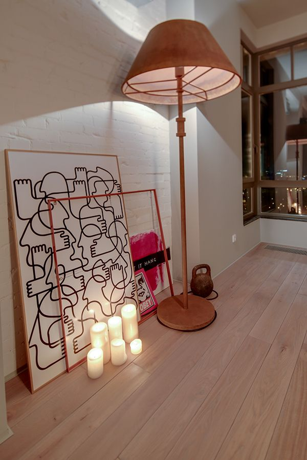 Based On Natural Materials Loft Apartment In Kiev, Ukraine.