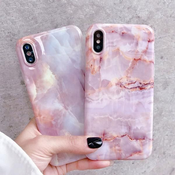 Fashion Marble Texture Pattern iPhone Case