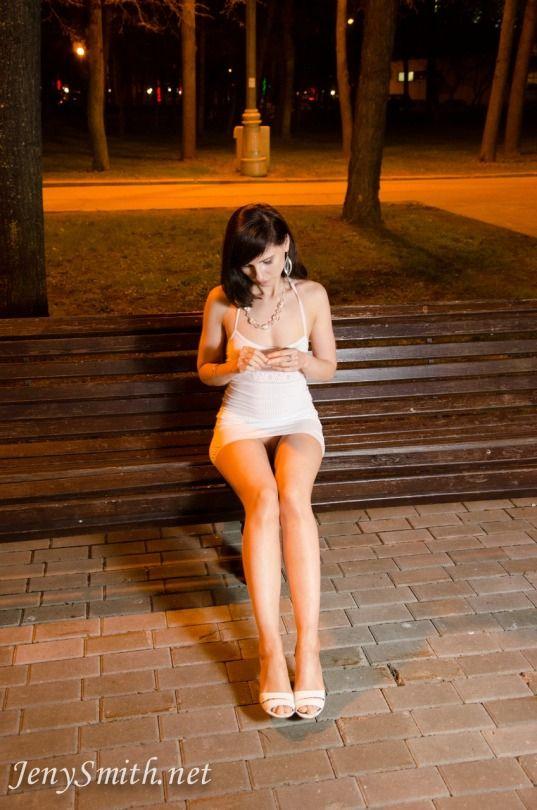 Jeny Smith  Jeny  Girls short dresses Girls in panties