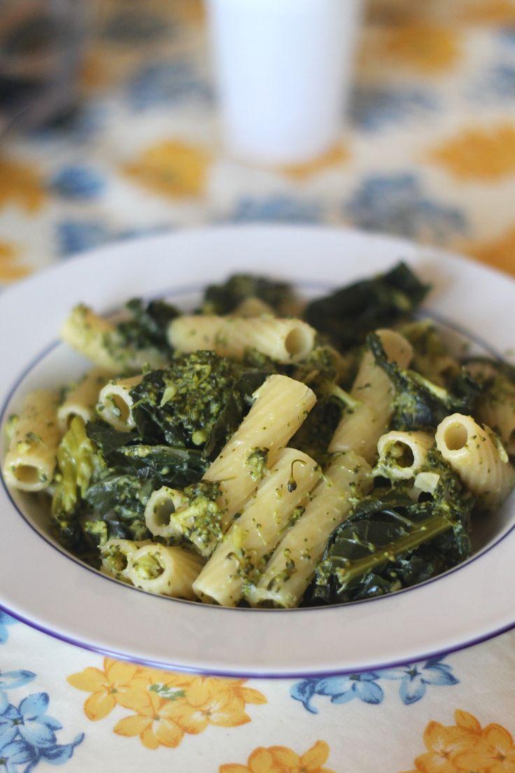 Pasta con i broccoli pugliese