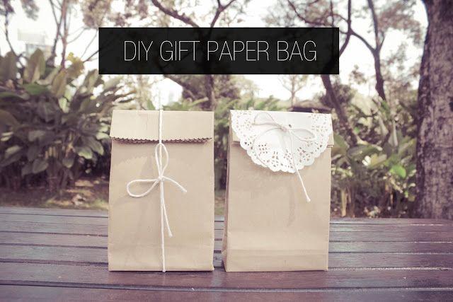 Daisy and Tea: DIY Gift Paper Bag
