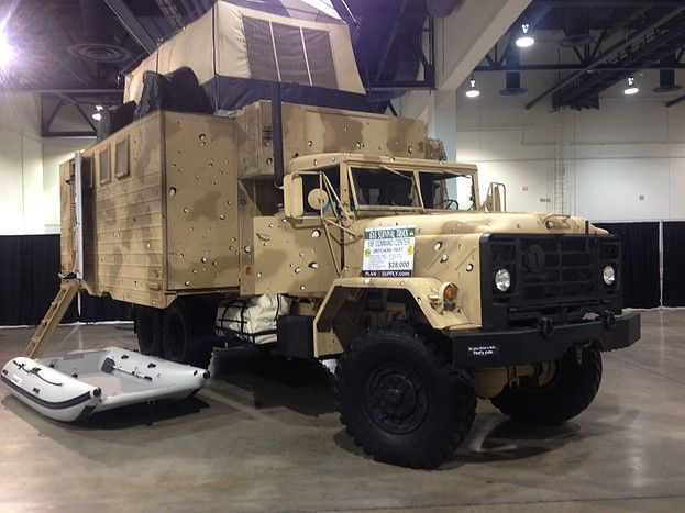 Used Military Vehicles >> Expanding Box Truck Expedition Ultimate Offroad 4x4 6x6