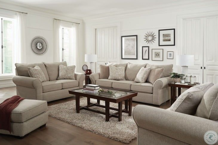 Maddox Putty Stone Living Room Set In 2020 Taupe Living Room Living Room Sets Taupe Sofa Living Room #taupe #living #room #furniture