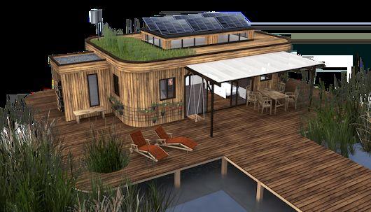 Wohnwagon Minihaus: Hersteller des energieautarken Wohnwagen präsentiert neues Tiny House
