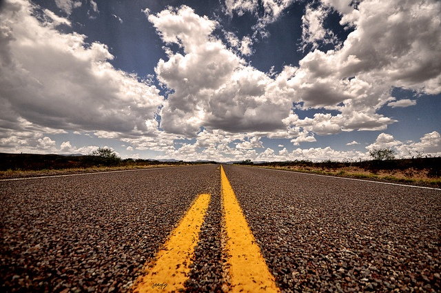 Texas Highway by smashthirteen, via Flickr