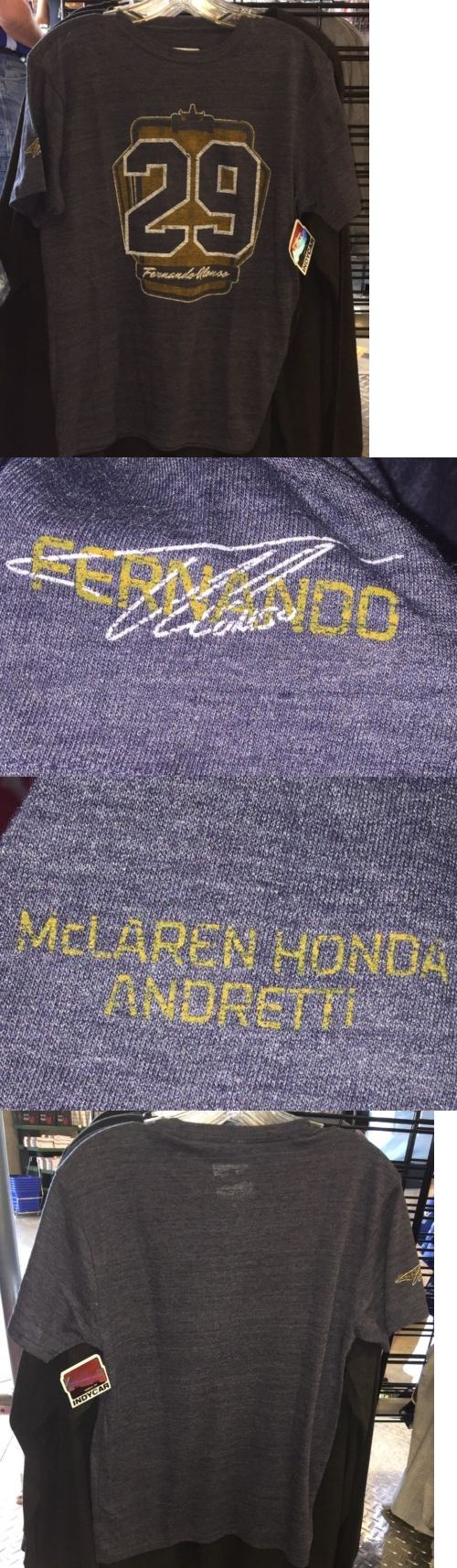 Racing-Indy 1228: Fernando Alonso Mclaren Honda Andretti New Indy 500 T-Shirt 101St Running Size L -> BUY IT NOW ONLY: $69.99 on eBay!