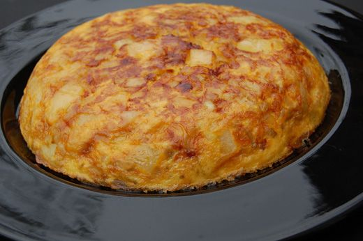 Spanish Omelette - Tortilla Espanola