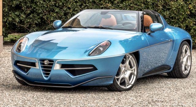 Carrozzeria Touring Super Leggera Disco Volante Spyder
