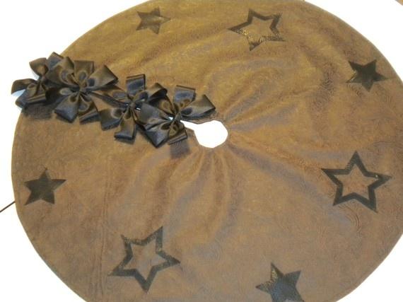country style xmas tree skirt