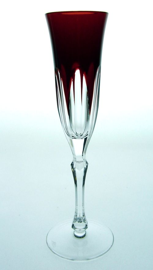 Crystal Champagne Flutes | Caprice Lead Crystal Champagne Flute