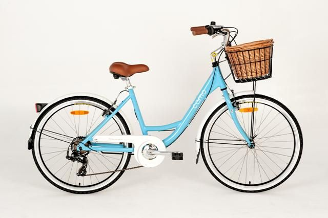 The Esperia Como in the blue, 7 speed option
