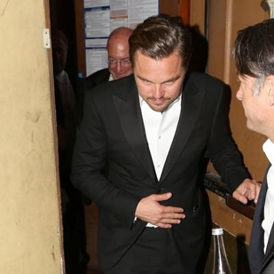 Red Carpet: Leonardo DiCaprio Celebrates Oscar Win with His Supportive Parents at Private Dinner