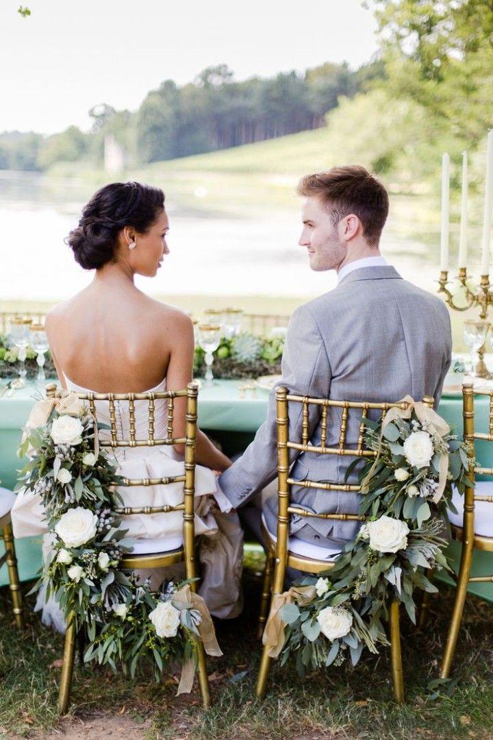 50 Shades of Greyed Jade Wedding Ideas - wedding reception idea; Photography: Eddie Judd