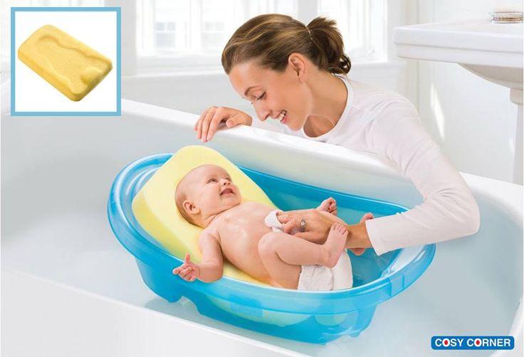 Το ανατομικό και αντιολισθητικό σφουγγάρι γίνεται μία άνετη «φωλιά» για το μωρό σας ως πρόσθετο στον νιπτήρα ή στην φορητή βρεφική μπανιέρα. 9,50€ https://goo.gl/JWdOuY