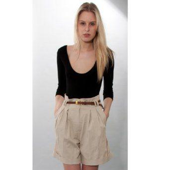 high waisted chino shorts - Google Search | Toni Newsome ...