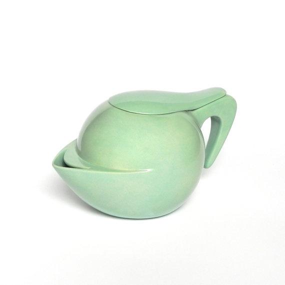 unique pieces glazed ceramic teapots by Fegiaccio