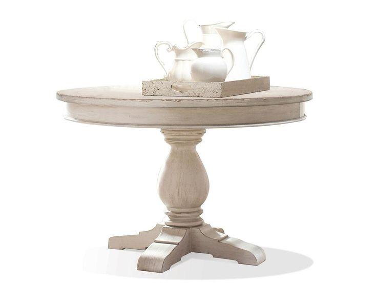 Riverside Dining Room Round Dining Table Pedestal 21252   North Carolina  Furniture Mart   Bixby,