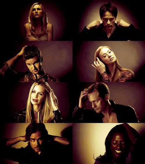 True Blood cast (gif)