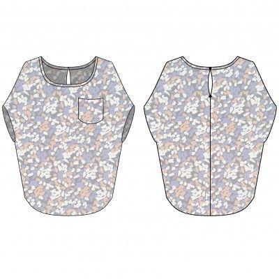 patron couture blouse Marguerite femme