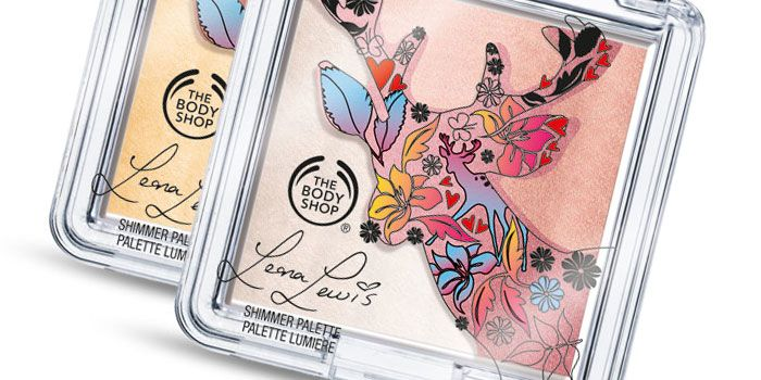 The Dieline - Cruelty Free Collection by Leona Lewis & The Body Shop.