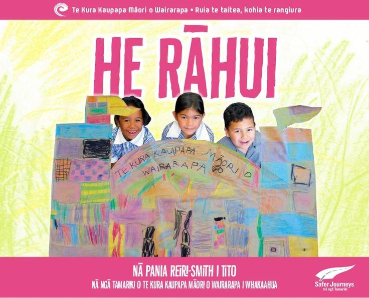 He Rāhui Nā Pania Reiri-Smith i tito Nā ngā tamariki o Te Kura Kaupapa Māori o Wairarapa i Whakaahua