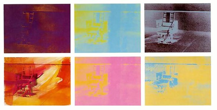 'électrique chaise' de Andy Warhol (1928-1987, United States)
