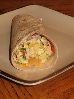 Healthy Breakfast Wrap