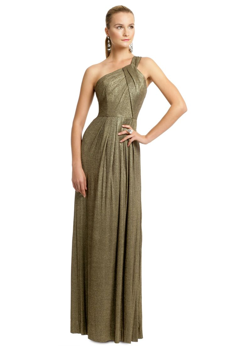 20 best dresses images on pinterest rent the runway clothes and milly gold metallica pleat gown rent the runway ombrellifo Gallery