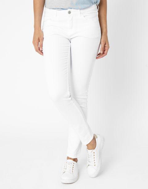 Les 25 meilleures id es de la cat gorie pantalon blanc femme sur pinterest jean blanc femme - Tenue jean blanc ...
