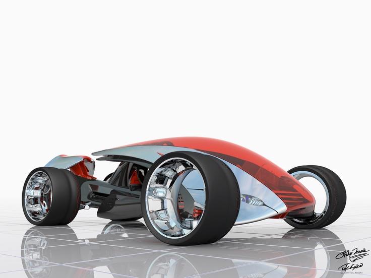 Nike ONE in Gran Turismo 4.