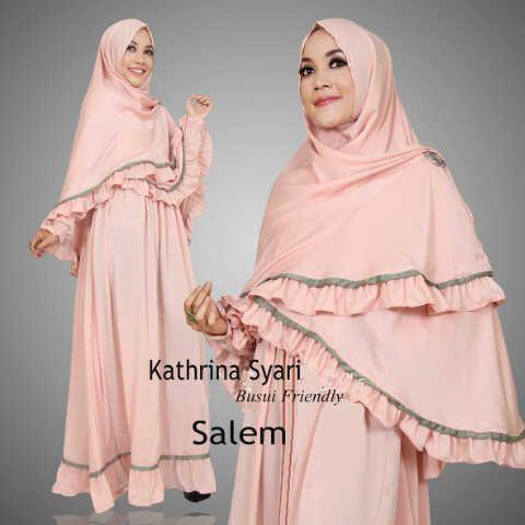 Gamis Syar'i Modern KATHRINA SYARI SALEM - http://warongmuslim.com/gamis-syari/gamis-syari-modern-kathrina-syari-salem/