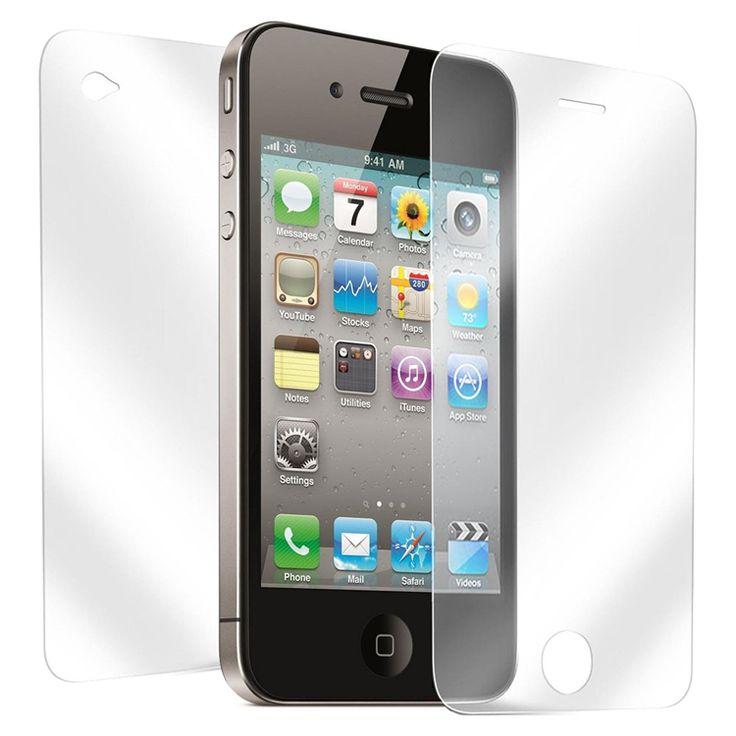 Μεμβράνη Προστασίας για iPhone 5&5S-μπρος-πίσω