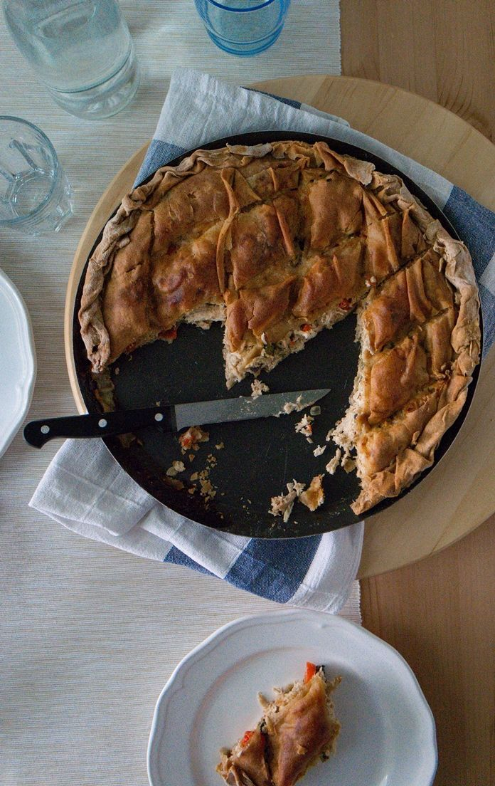 Whole Wheat Chicken Pie - tkd