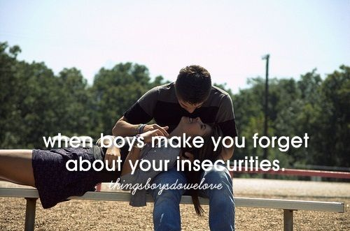 Er ist der Eine, wenn ER dich deine Unsicherheiten vergessen lässt...CHECK