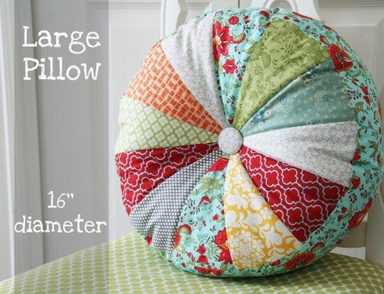 How To Sew A Large Floor Pillow : 1000+ images about Big Girl Bedroom on Pinterest Twin quilt, Nursery trees and Glitter light ...