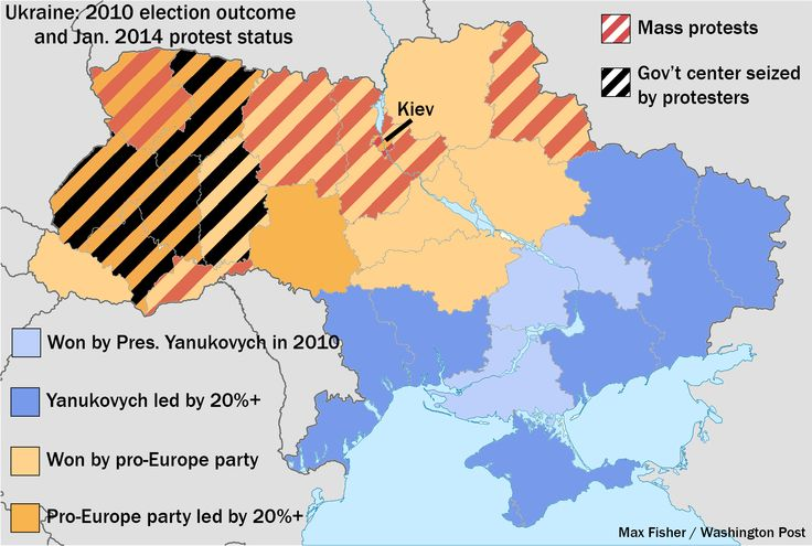 This is the one map you need to understand Ukraine's crisis