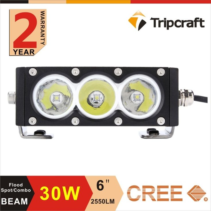 87.79$  Buy here - 30w 6inch Single Row Led Light Bar with cree chip 10w High Light Output White Amber Yellow color Flood Spot Combo Beam for JEEP  #SHOPPING