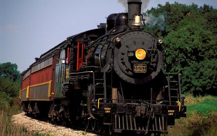 поезда, старые вектор